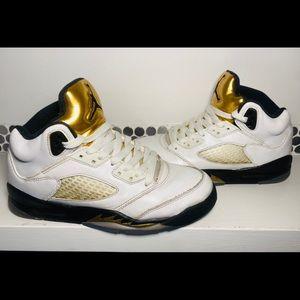 """Jordan 5s """"Olympics"""" (5.5Y / W7)"""